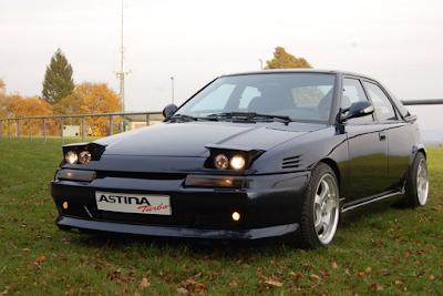 Eksterior Mazda Astina
