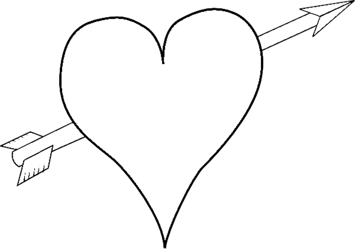 love heart coloring pages - photo#36
