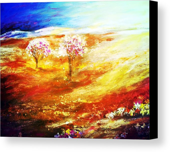 Blossom Dawn Canvas Print