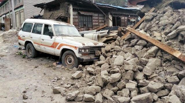 Foto-foto Suasana Nepal Setelah Dihantam Gempa Dengan Kekuatan 7,9 SR