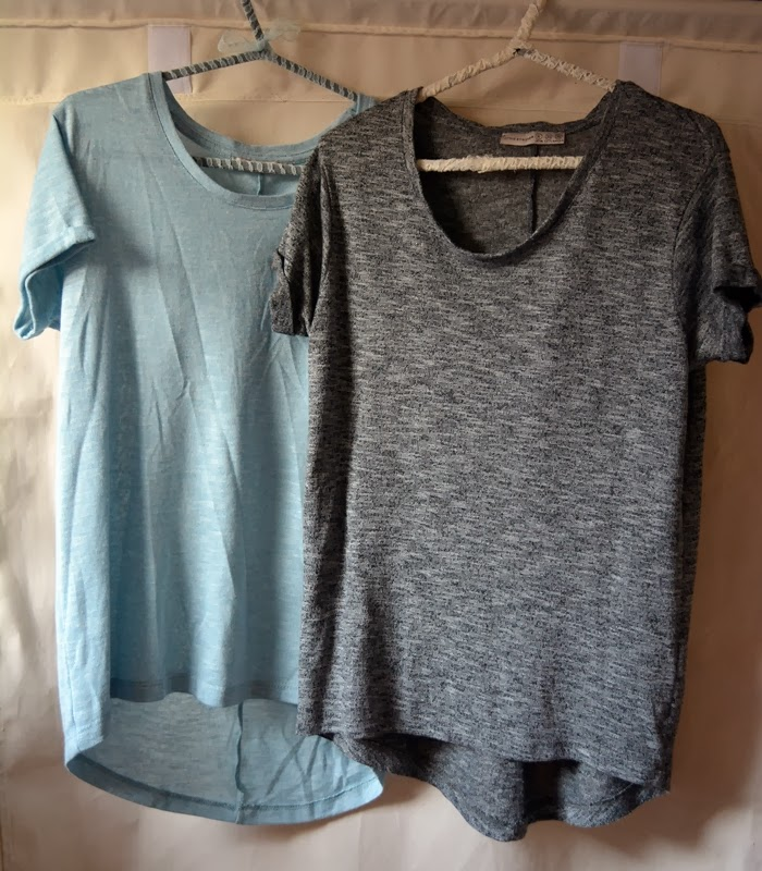 summer spring duck egg blue grey cute top