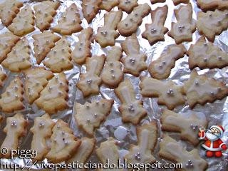 biscotti da regalare a natale: stelline