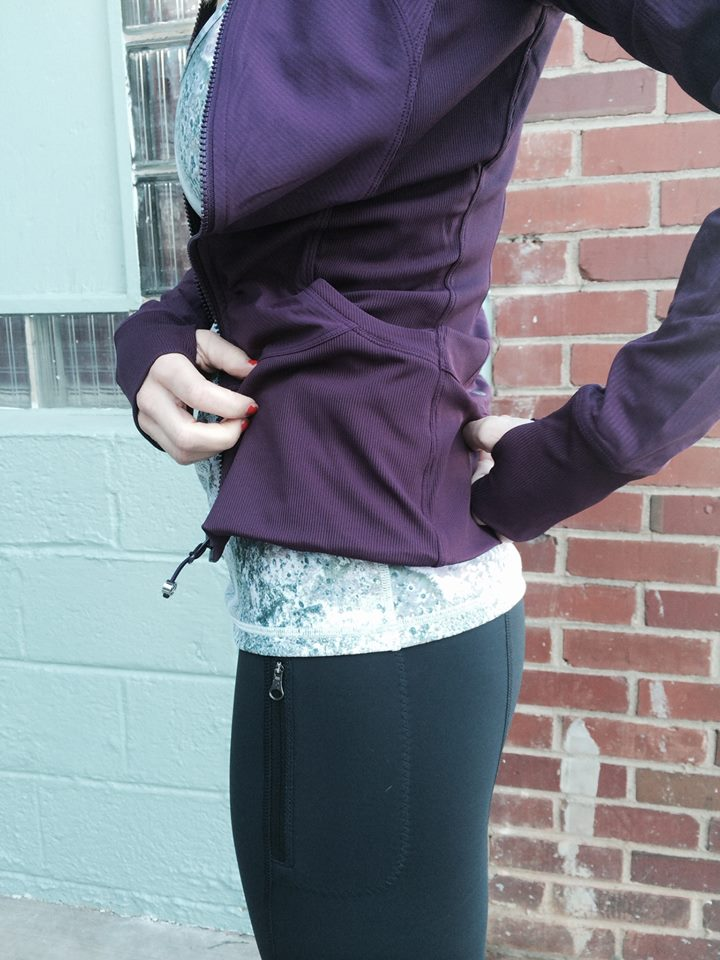 lululemon black-cherry in-flux-jacket