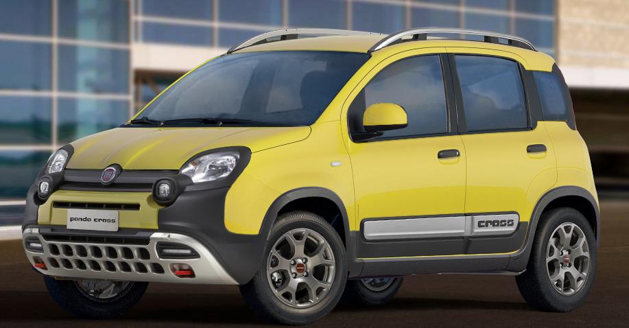 Fiat Panda Jaune : fiat panda 4x4 cross 2018 couleurs colors ~ Gottalentnigeria.com Avis de Voitures