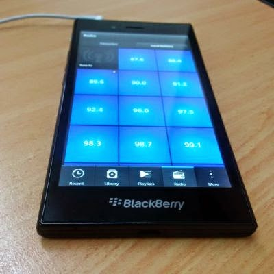 Radio di BlackBerry 10