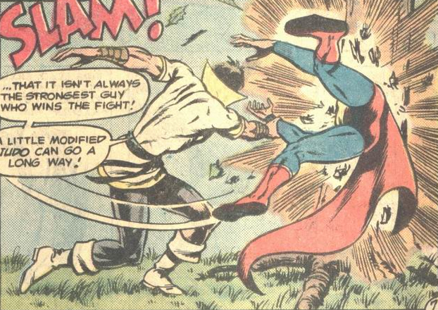 Karate Kid #12 (1978) from DC Comics. Written by Bob Rozakis. Pencils by Juan Ortiz. Inks by Bob McLeod. Colors by Anthony Tollin. Letters by Milton Snappin.