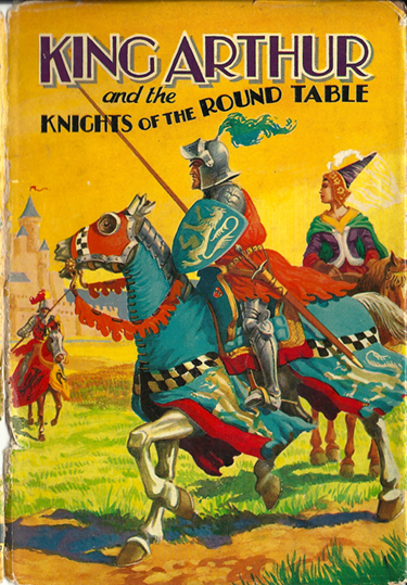 Ten Green Balloons: King Arthur and the Knights of the Round Table