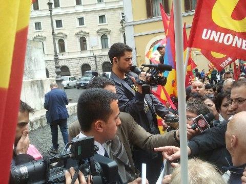 Exlsu ata sciopero del 7 maggio sotto montecitorio for Montecitorio oggi