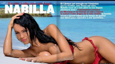 Les Anges 4 : Nabila pose nue en couverture de New Look