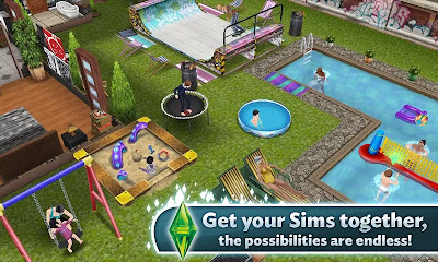 Sims™ FreePlay. Apk + Data 2.3.13 Mod Unlimited Everything