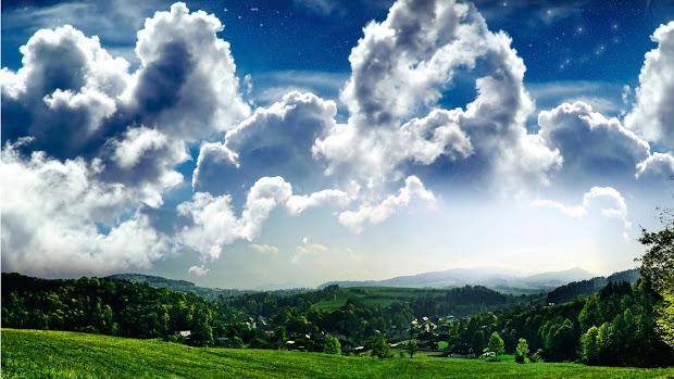 beautiful landscape scenery wallpaper