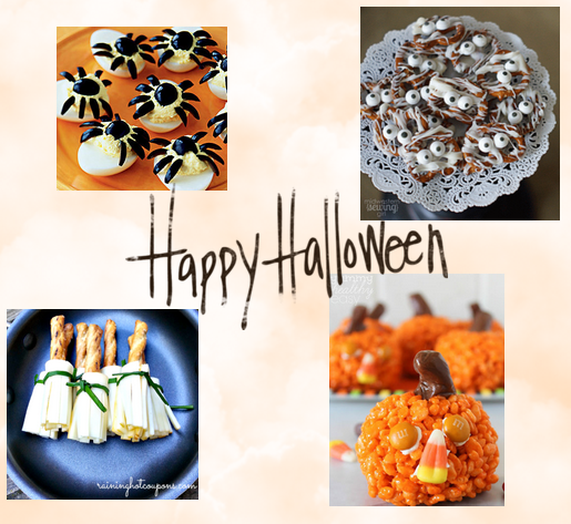 Easy Halloween Food Crafts