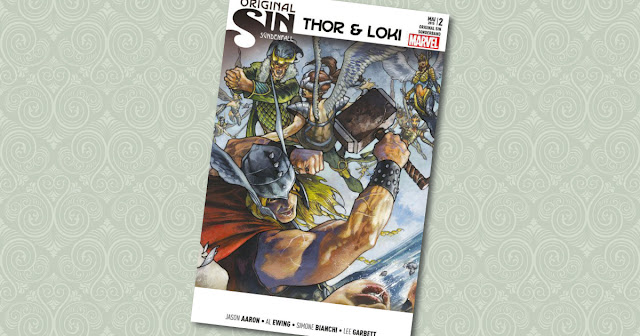 Original Sin Sonderband 2 Thor Loki Panini Cover