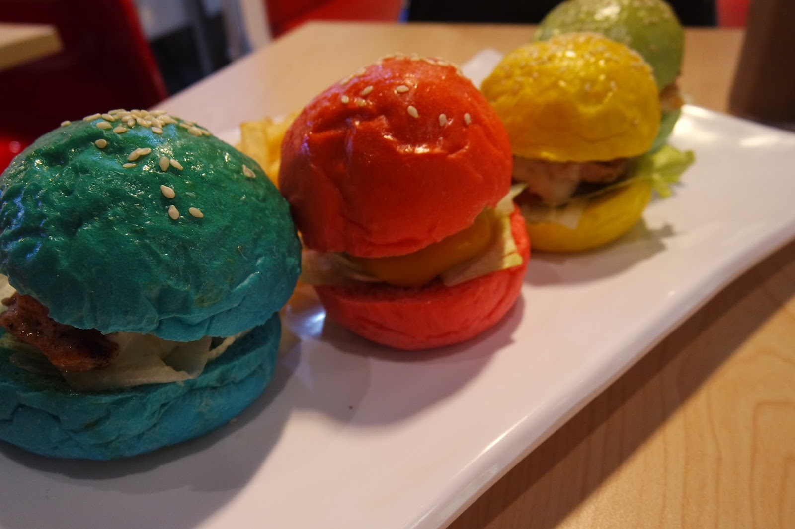 Image result for colourful burgers