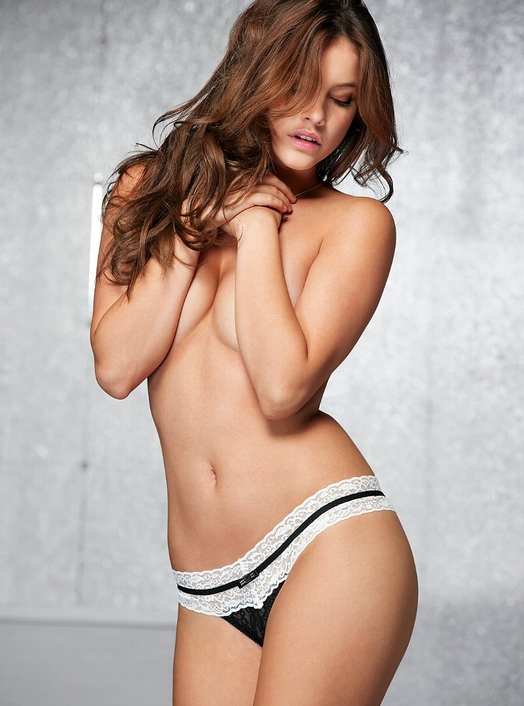 Barbara Palvin for Victoria's Secret Lingerie, November 2012