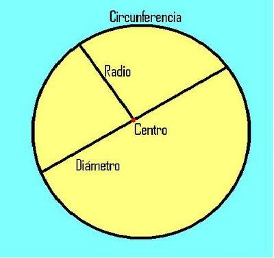 elemento de un circulo: