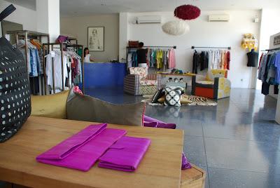 Quarzia's boutique in Seminyak, Bali