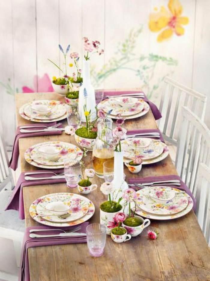 Una pizca de hogar una mesa perfecta por menos de lo que for Como poner una mesa bonita