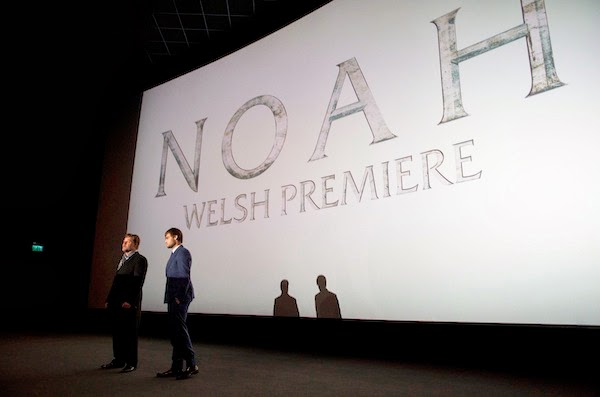 Douglas Booth in Alexander McQueen - Dublin, Cardiff and Edinburgh Premiere of 'Noah'