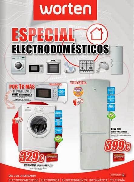 worten electrodomesticos marzo 2014