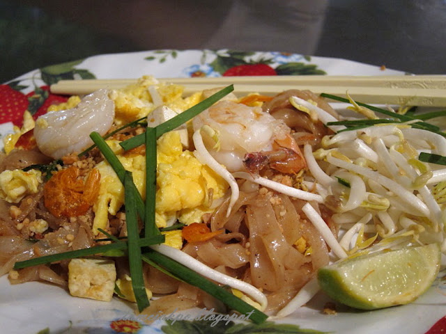 Padthai from Chiangmai night market