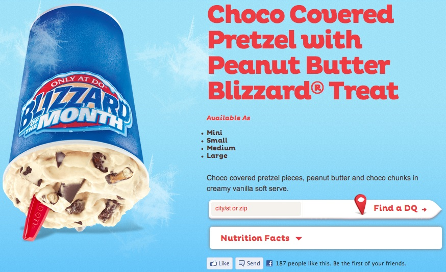 Oreo cookies blizzard treat - dairy queen - dq grill  chill, view online menu and dish photos at zmenu