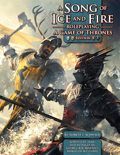 Capa - A Song of Ice and Fire : Roleplaying A Game of Thrones