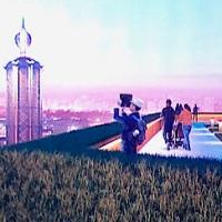 Новая площадка обозрения на бастионе Печерской крепости