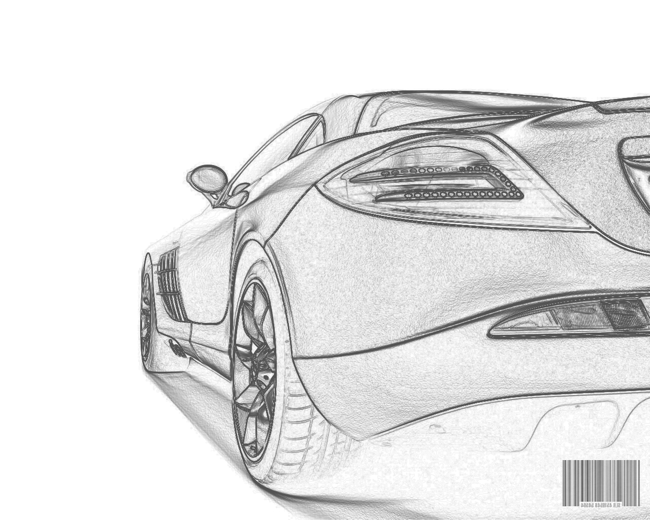 easy pencil drawings of cars - photo #17