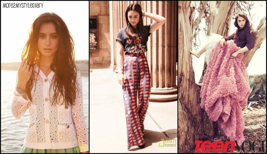 Lily Collins Is More2mystylediary S Style Star Of The Month Just Two
