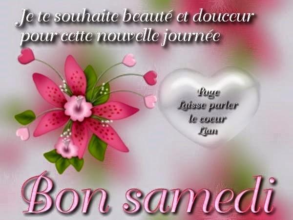 Message Bonjour mes amis mes amours, bon samdi