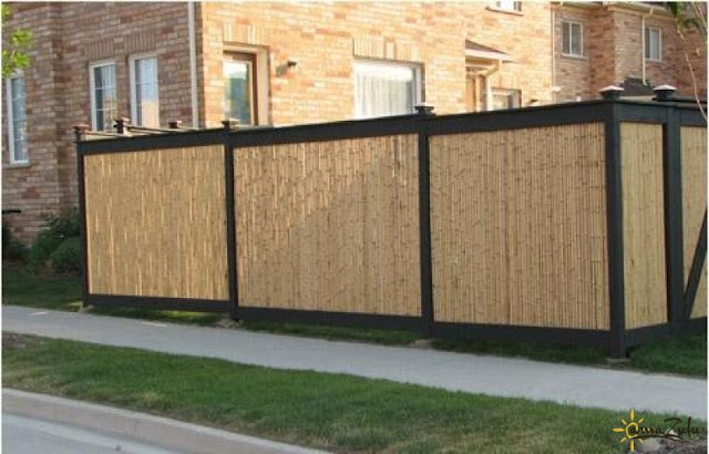 Bamboo privacy fence products photo
