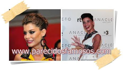 Alinne Moraes Actriz Brasileña con Ares Teixidó
