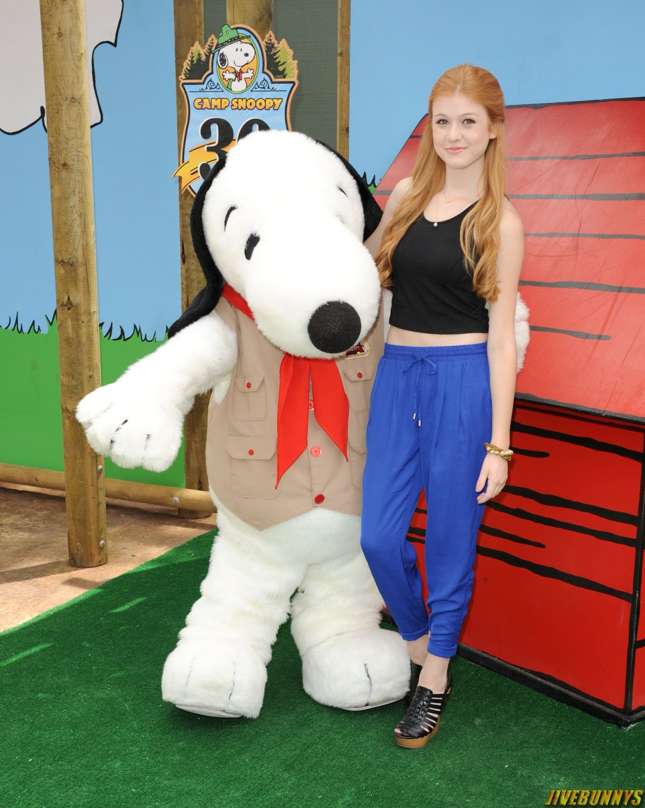 Katherine McNamara at Camp Snoopy's 30th Anniversary VIP Party at Knott's Berry Farm in Buena Park 6/26/14