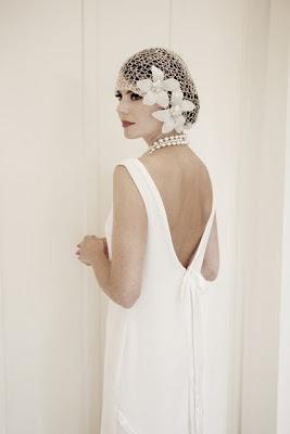 robe de maroiée vintage retro années 1920