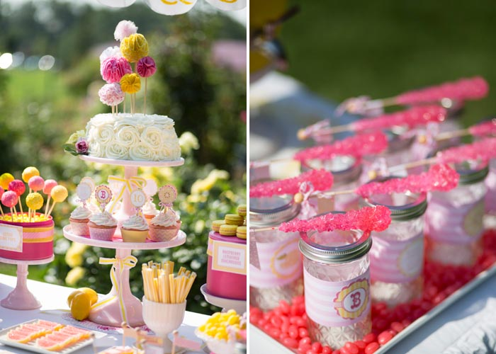 Candy in Weddings - Rock Candy Drink Stirrers