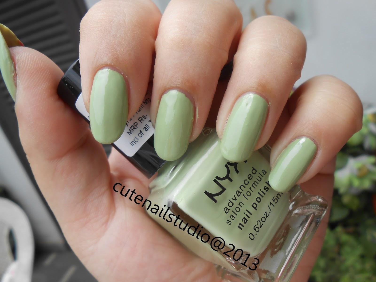 Cute nails: Stone marble nails