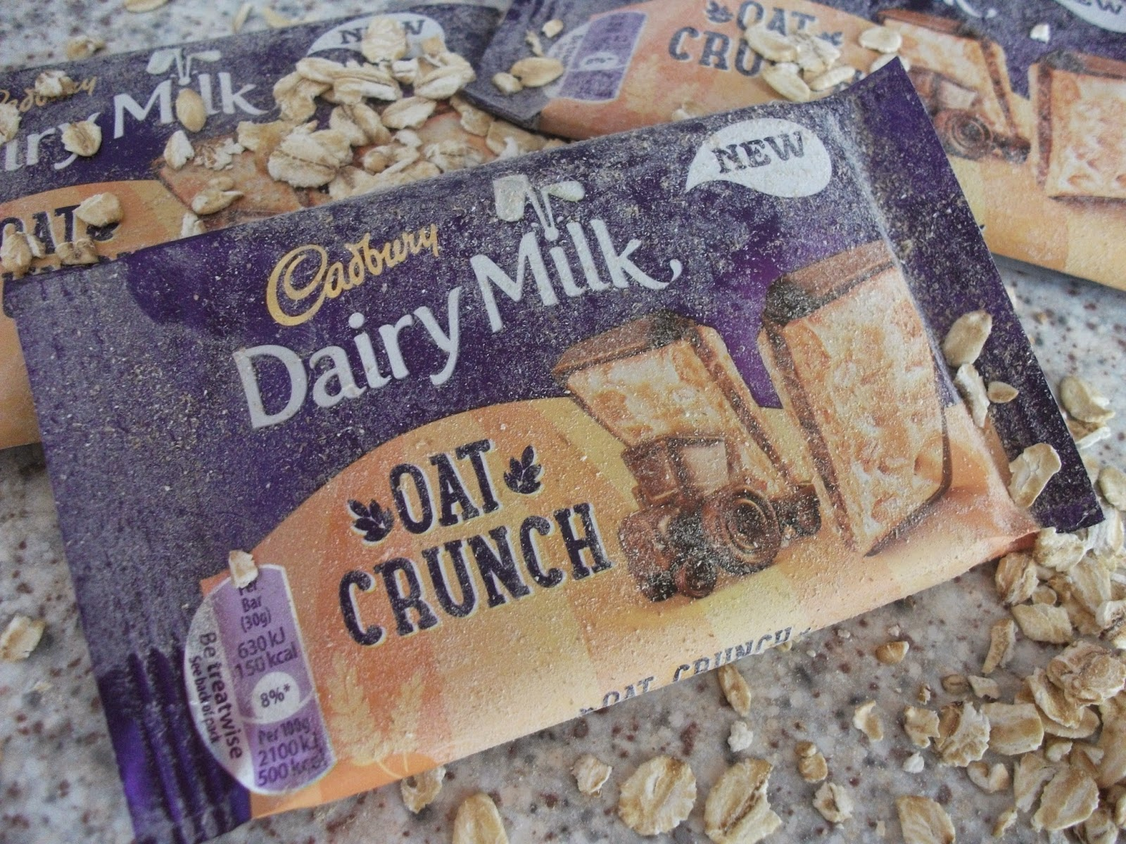 cadbury dairy milk oat crunch