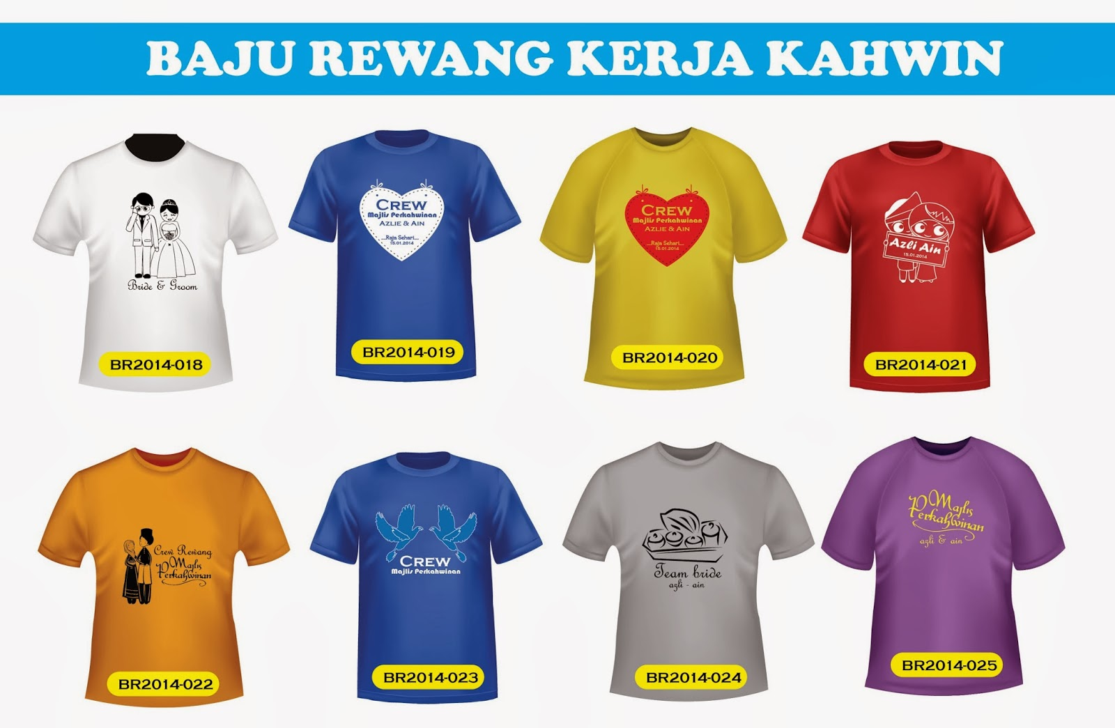 Design t shirt rewang - New Design Tshirt Rewang Kerja Kahwin Minimum 20pcs Sahaja Rm13 Pcs One Colour Printing One Side 100 Cotton