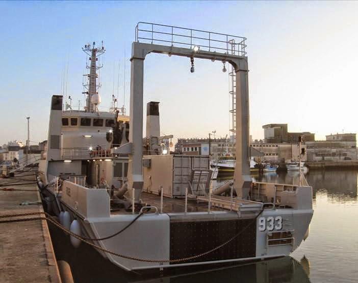 KRI Rigel 933 hidro oseanografi