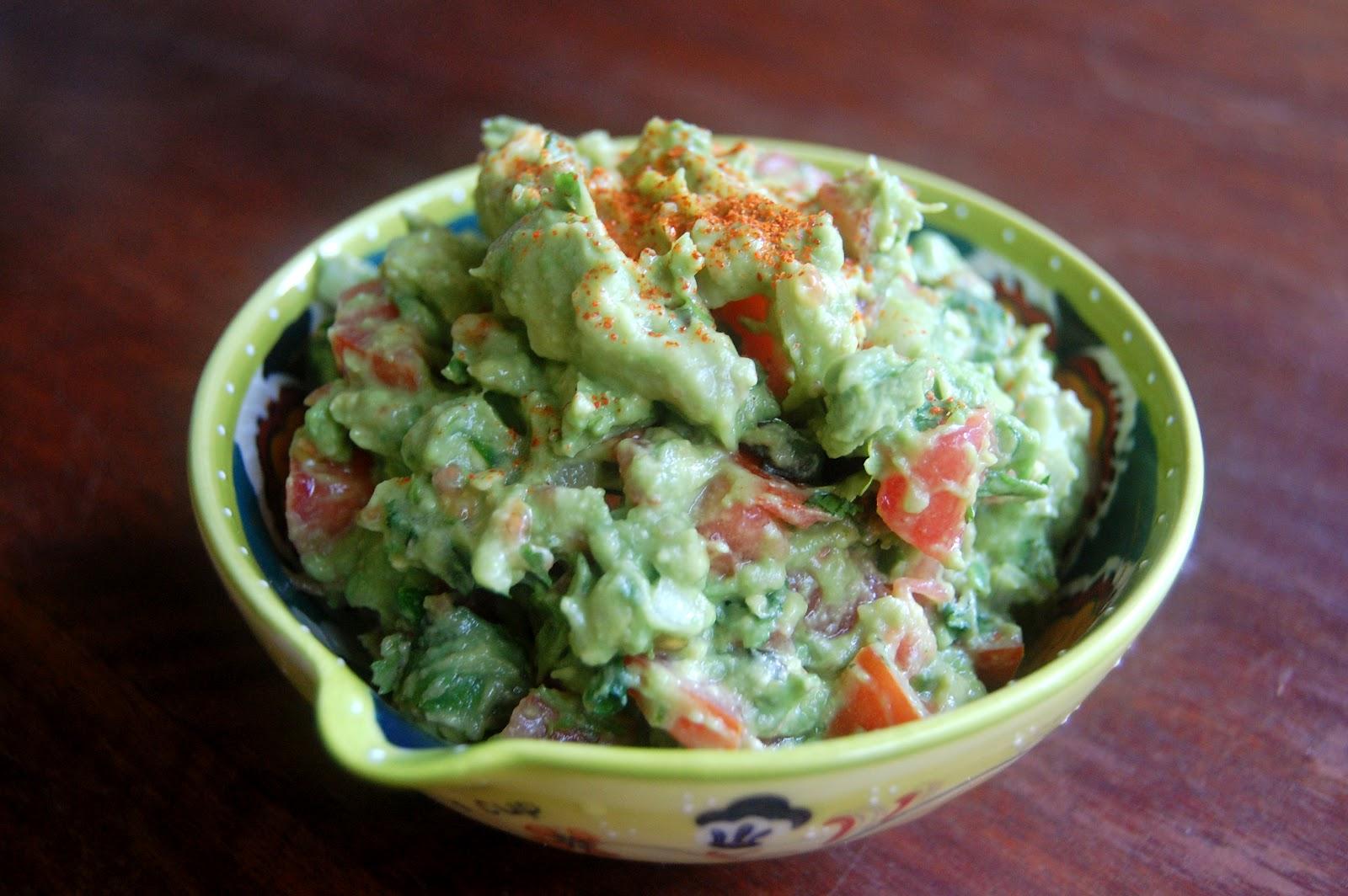Classic Guacamole: Recipe