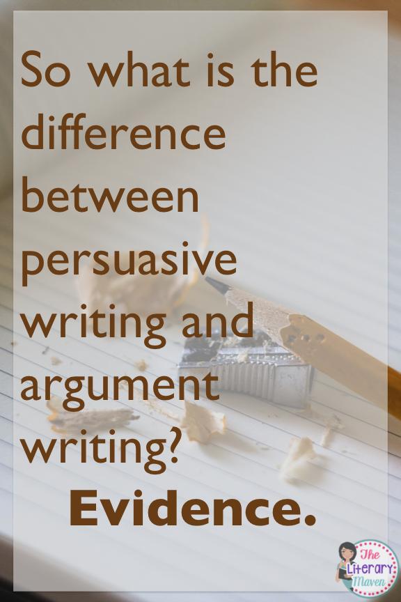 help writing an argument essay