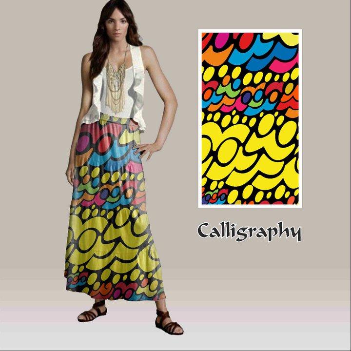 """Tekstil Tasarım Çalışmaları """" Hengame """""""
