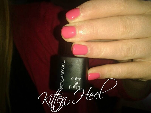 Sensationail Gel Polish Kitten heel
