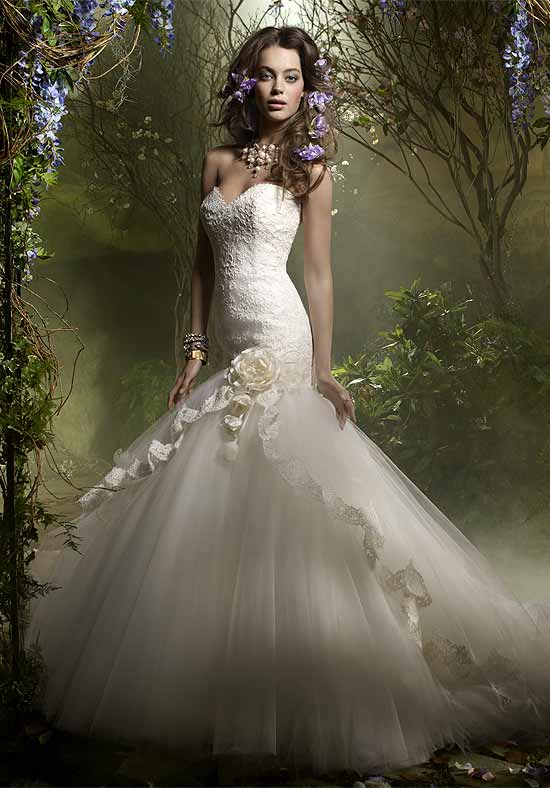 Lazaro Wedding Dresses Fashion