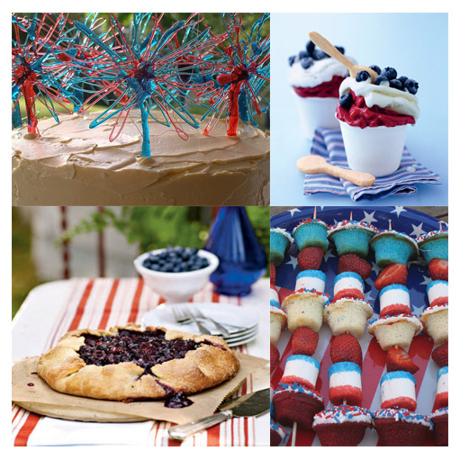 fourth of july cupcakes recipes. Fourth of July Cupcake Kabobs