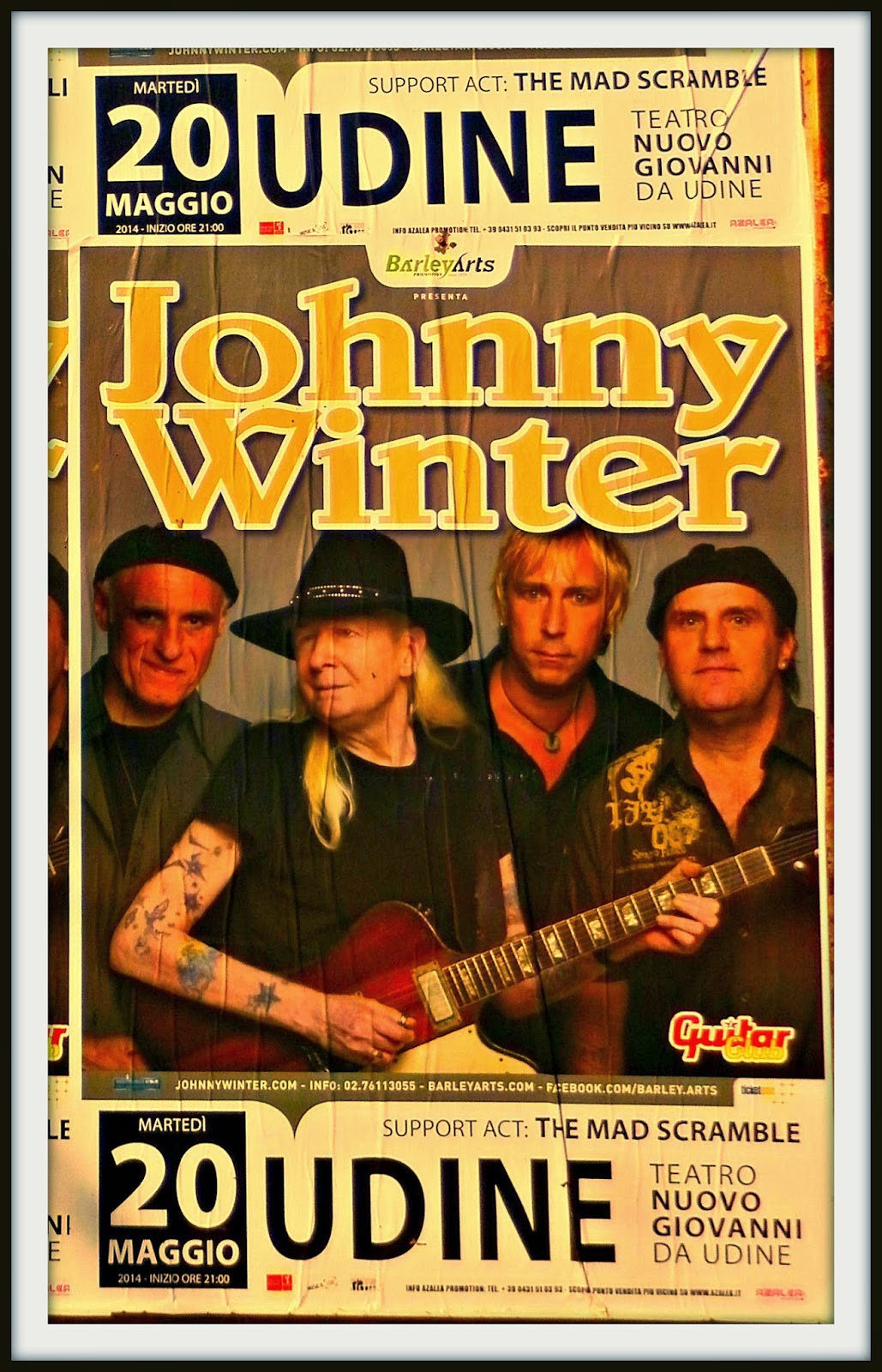 JONNY WINTER A UDINE
