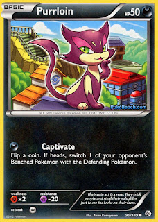 Purrloin Boundaries Crossed Pokemon Card
