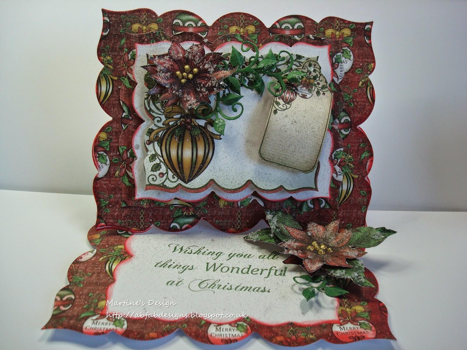 Abfab Designs Christmas Heartfelt