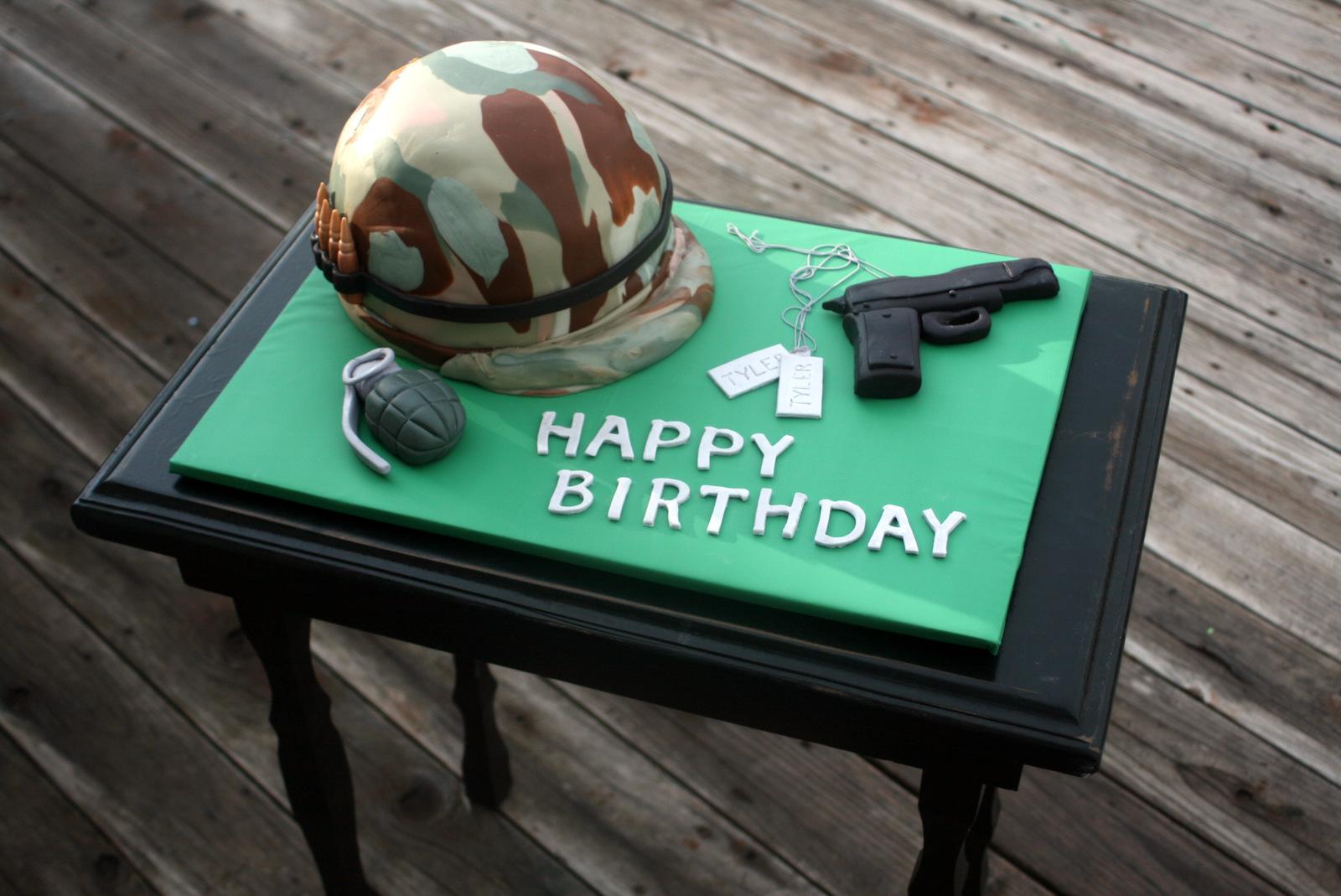 Genevres Bakery Army Cake